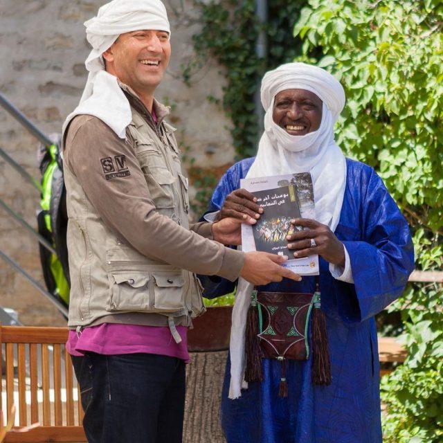 Adnen Helali et Atefokh nos 2 bergers du Mondehellip