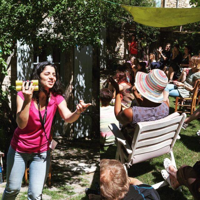Virginia Cambucci  festival detoursdumonde solosdumonde lozere musiquesdumonde 2016
