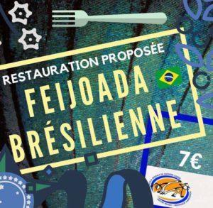 Restauration Rapide : Feijoada L'association Gévaudan Capoeira en partenariat avec Détours du Monde vous propose de vous restaurez avant et/ou pendant les concerts prévus le 14 avril à Chanac http://detoursdumonde.org/la-yegros/ Au menu saveur Brésilienne avec des barquettes de Feijoada à emporter et gâteaux diverses et variés pour le plaisir de tous ! Bom apetite !